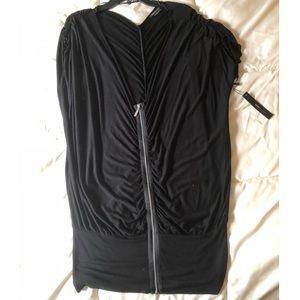 BCBG MaxAzria Front Zip Top/Tunic/Mini dress